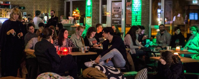 Conversation Café / samtalesalon